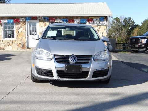 2010 Volkswagen Jetta for sale at Flywheel Auto Sales Inc in Woodstock GA