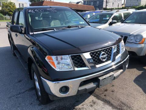 2007 Nissan Frontier for sale at Matt-N-Az Auto Sales in Allentown PA