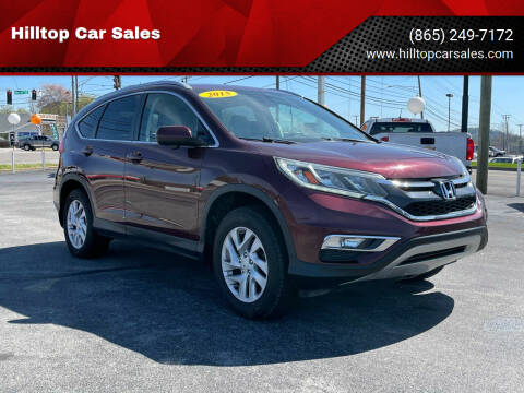 2015 Honda CR-V for sale at Hilltop Car Sales in Knox TN
