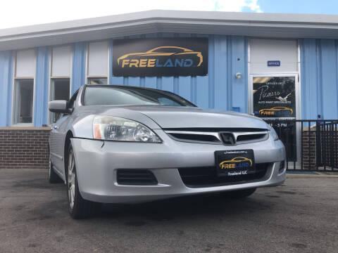 2007 Honda Accord for sale at Freeland LLC in Waukesha WI