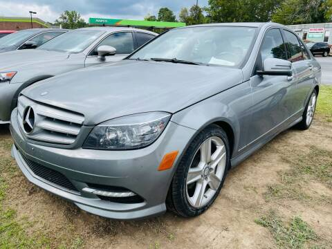 2011 Mercedes-Benz C-Class for sale at BRYANT AUTO SALES in Bryant AR
