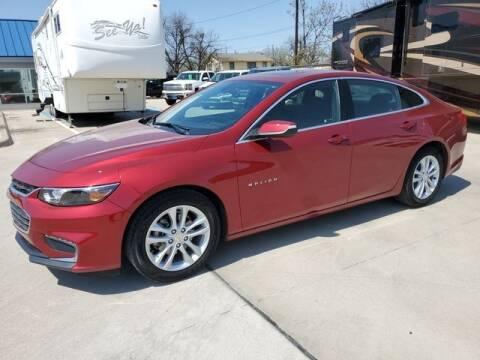 2017 Chevrolet Malibu for sale at Kell Auto Sales, Inc - Grace Street in Wichita Falls TX