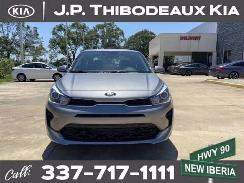 2021 Kia Rio for sale at J P Thibodeaux Used Cars in New Iberia LA