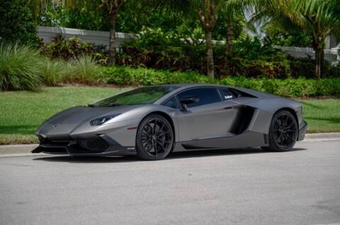 2014 Lamborghini Aventador for sale at EURO STABLE in Miami FL