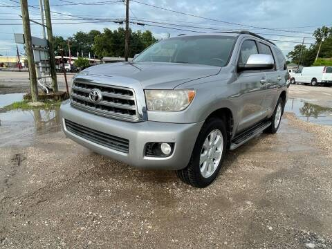 2008 Toyota Sequoia for sale at RODRIGUEZ MOTORS CO. in Houston TX