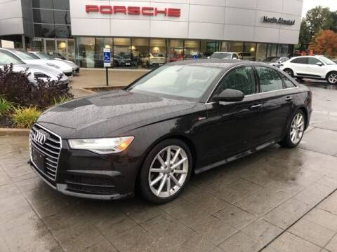 2018 Audi A6 for sale at PORSCHE OF NORTH OLMSTED in North Olmsted OH