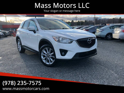 2015 Mazda CX-5 for sale at Mass Motors LLC in Worcester MA