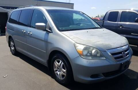 2007 Honda Odyssey for sale at Angelo's Auto Sales in Lowellville OH