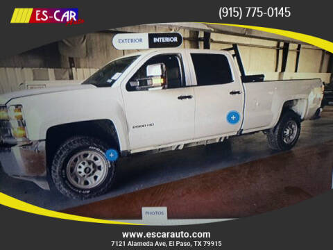 2016 Chevrolet Silverado 2500HD for sale at Escar Auto in El Paso TX