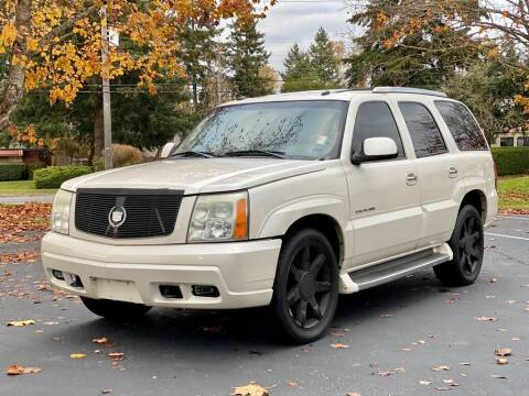 2003 Cadillac Escalade for sale at Q Motors in Lakewood WA