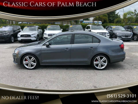 2015 Volkswagen Jetta for sale at Classic Cars of Palm Beach in Jupiter FL
