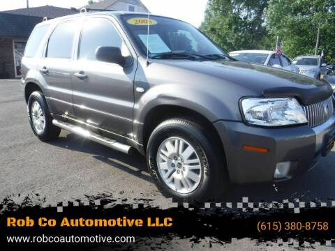 2005 Mercury Mariner for sale at Rob Co Automotive LLC in Springfield TN
