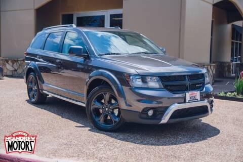 2018 Dodge Journey for sale at Mcandrew Motors in Arlington TX