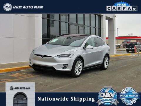 2017 Tesla Model X for sale at INDY AUTO MAN in Indianapolis IN