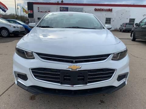 2018 Chevrolet Malibu for sale at Minuteman Auto Sales in Saint Paul MN