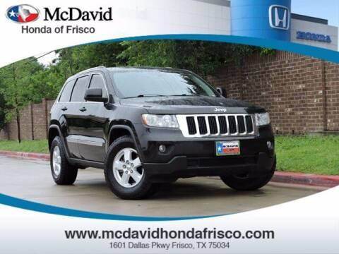 2013 Jeep Grand Cherokee for sale at DAVID McDAVID HONDA OF IRVING in Irving TX