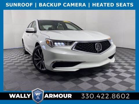 2019 Acura TLX for sale at Wally Armour Chrysler Dodge Jeep Ram in Alliance OH