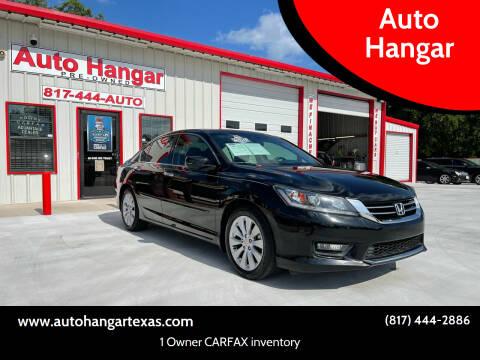 2014 Honda Accord for sale at Auto Hangar in Azle TX