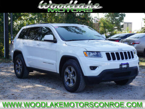 2016 Jeep Grand Cherokee for sale at WOODLAKE MOTORS in Conroe TX