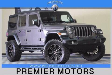 2018 Jeep Wrangler Unlimited for sale at Premier Motors in Hayward CA