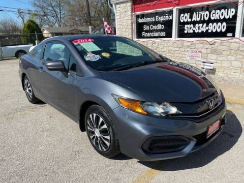 2014 Honda Civic for sale at GOL Auto Group in Austin TX