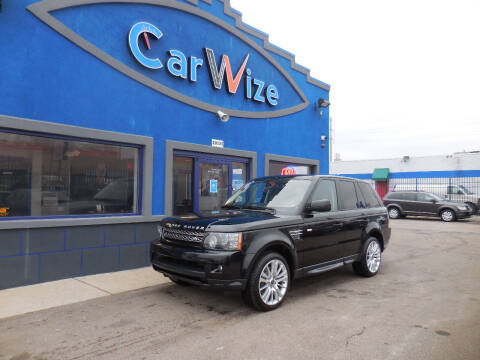 2013 Land Rover Range Rover Sport for sale at Carwize in Detroit MI