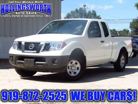 2018 Nissan Frontier for sale at Hollingsworth Auto Sales in Raleigh NC