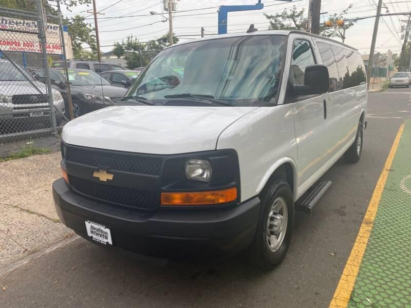 2016 Chevrolet Express Passenger for sale at DEALS ON WHEELS in Newark NJ