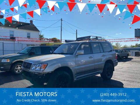 2001 Lexus LX 470 for sale at FIESTA MOTORS in Hagerstown MD