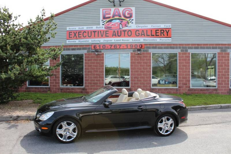 2007 Lexus SC 430 for sale at EXECUTIVE AUTO GALLERY INC in Walnutport PA