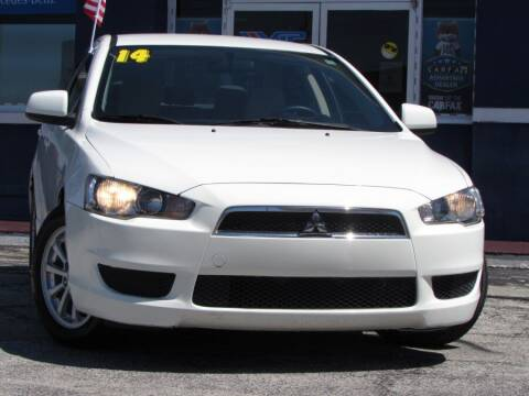 2014 Mitsubishi Lancer for sale at VIP AUTO ENTERPRISE INC. in Orlando FL
