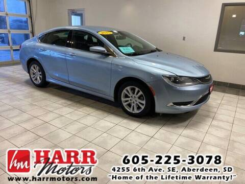 2015 Chrysler 200 for sale at Harr's Redfield Ford in Redfield SD