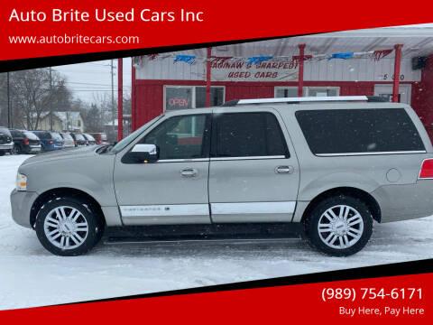2008 Lincoln Navigator L for sale at Auto Brite Used Cars Inc in Saginaw MI