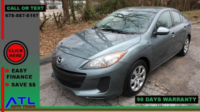 2012 Mazda MAZDA3 for sale at ATL Auto Trade, Inc. in Stone Mountain GA