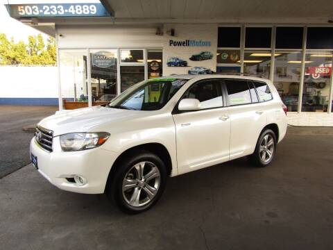 2009 Toyota Highlander for sale at Powell Motors Inc in Portland OR