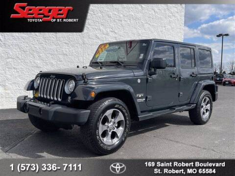 2017 Jeep Wrangler Unlimited for sale at SEEGER TOYOTA OF ST ROBERT in St Robert MO