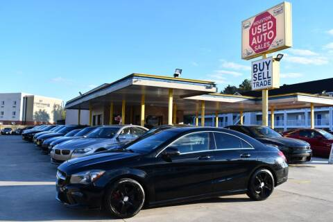2015 Mercedes-Benz CLA for sale at Houston Used Auto Sales in Houston TX