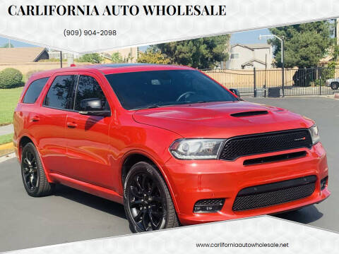2019 Dodge Durango for sale at CARLIFORNIA AUTO WHOLESALE in San Bernardino CA