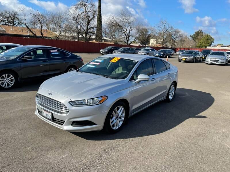 2016 Ford Fusion for sale at Mega Motors Inc. in Stockton CA