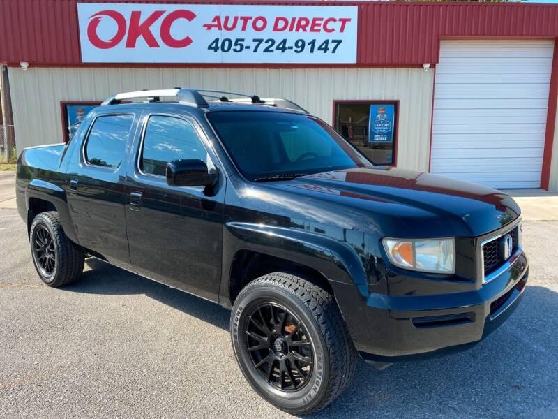 2007 Honda Ridgeline for sale at OKC Auto Direct, LLC in Oklahoma City OK