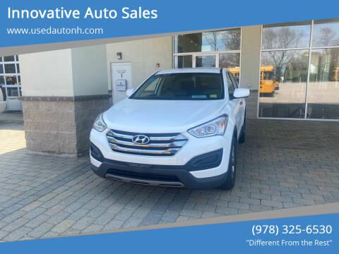 2015 Hyundai Santa Fe Sport for sale at Innovative Auto Sales in North Hampton NH