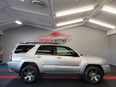 2005 Toyota 4Runner for sale at Premium Motors in Villa Park IL