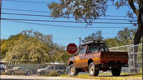 1981 Datsun 720 for sale at OVE Car Trader Corp in Tampa FL