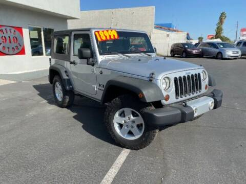 2008 Jeep Wrangler for sale at Brown & Brown Wholesale in Mesa AZ