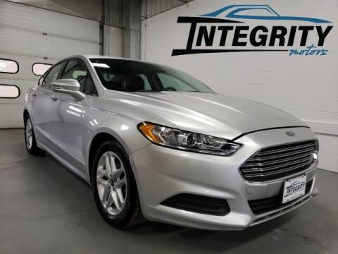 2015 Ford Fusion for sale at Integrity Motors, Inc. in Fond Du Lac WI