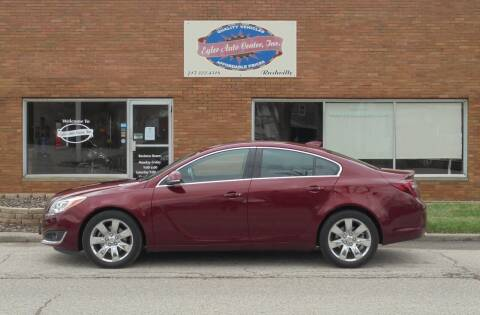 2016 Buick Regal for sale at Eyler Auto Center Inc. in Rushville IL