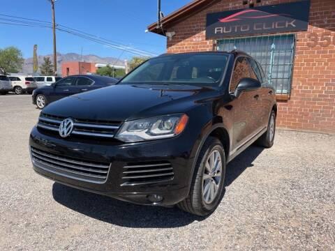 2013 Volkswagen Touareg for sale at Auto Click in Tucson AZ