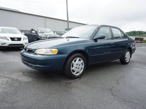 1999 Toyota Corolla for sale at CHAPARRAL USED CARS in Piney Flats TN