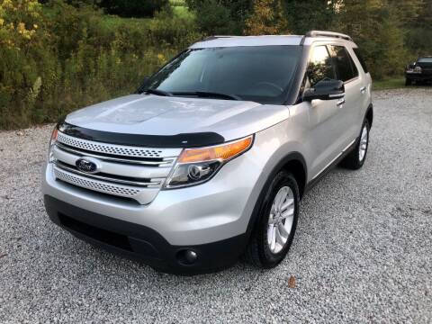 2013 Ford Explorer for sale at R.A. Auto Sales in East Liverpool OH