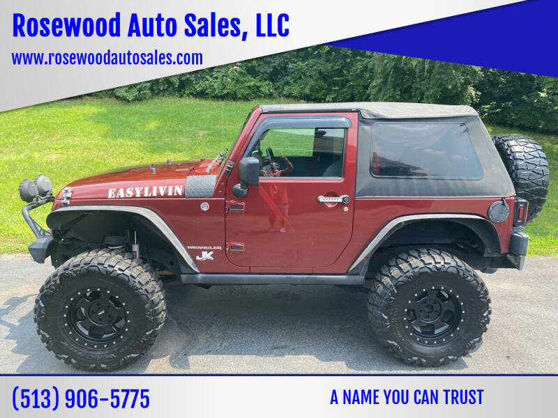2008 Jeep Wrangler for sale at Rosewood Auto Sales, LLC in Hamilton OH